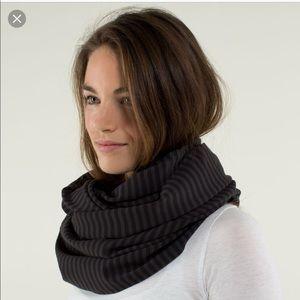 Lululemon Vinyasa Rulu Hyper Stripe Black Gray